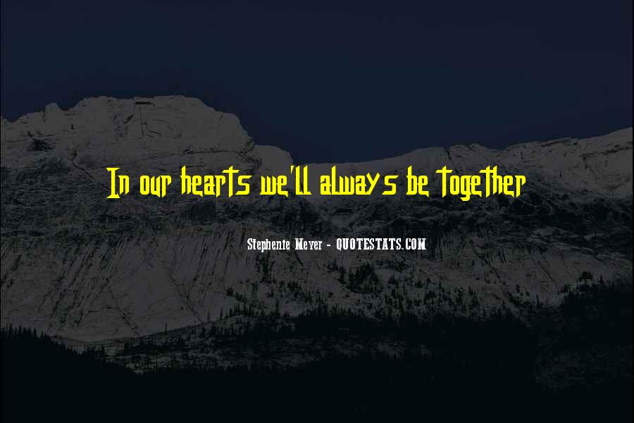 Stephenie Meyer Love Quotes #123588