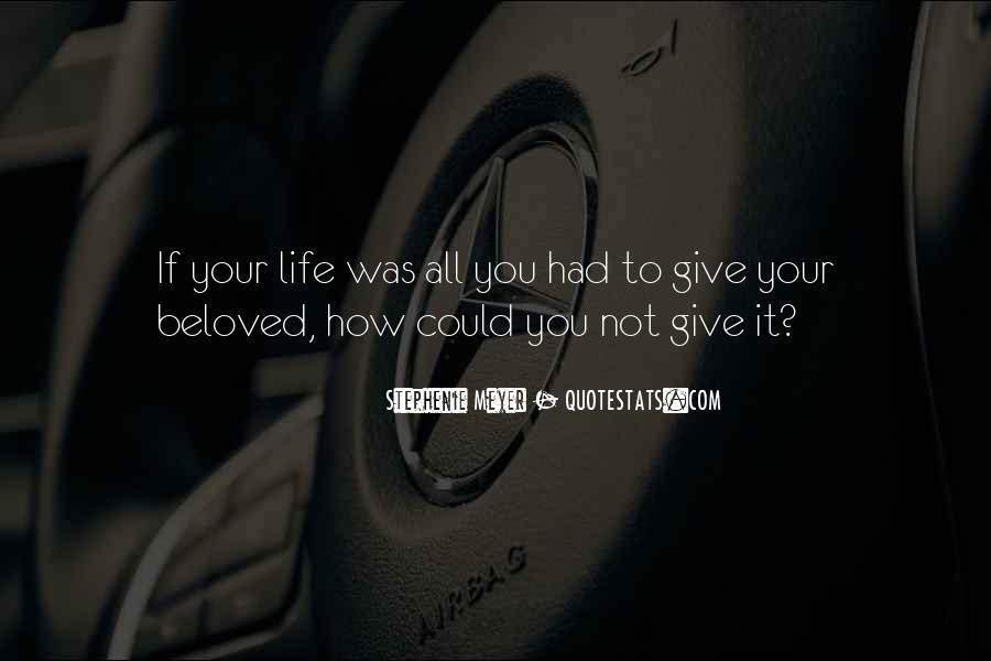 Stephenie Meyer Love Quotes #1269879