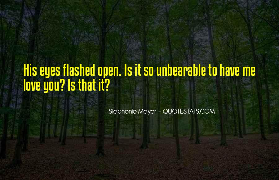 Stephenie Meyer Love Quotes #160578