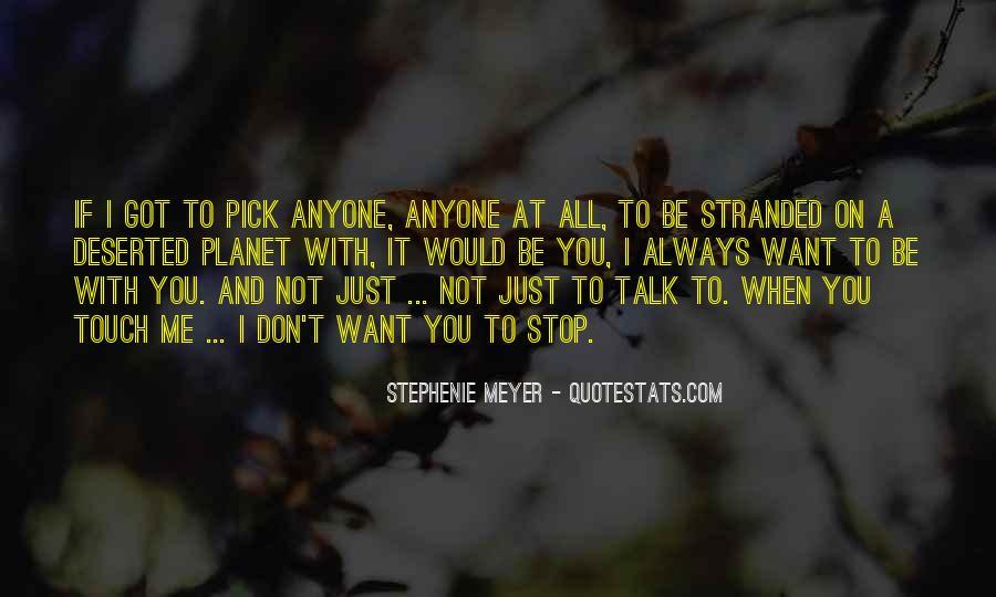 Stephenie Meyer Love Quotes #275190