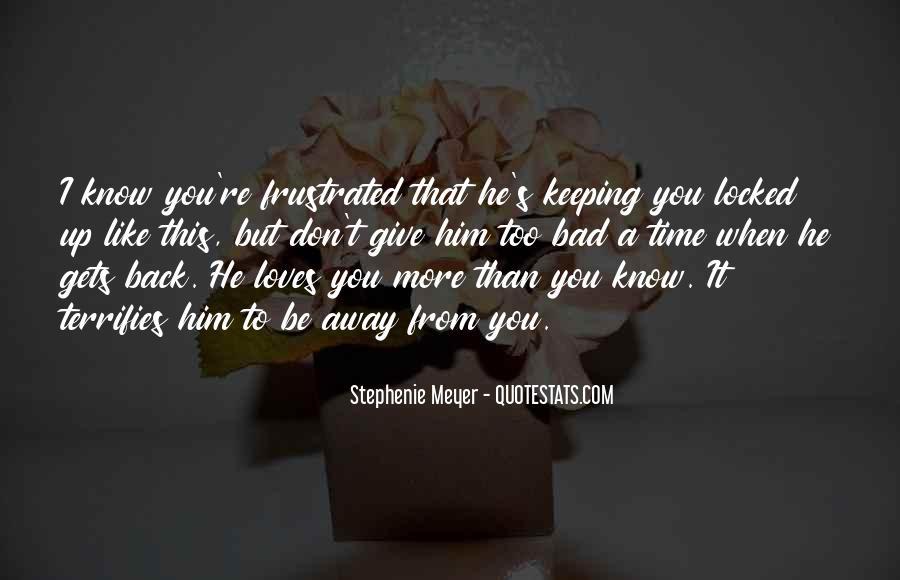Stephenie Meyer Love Quotes #865251