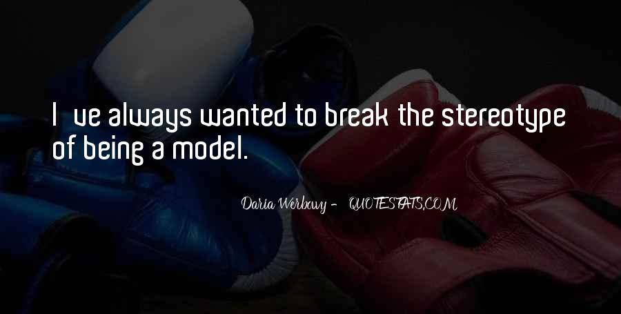 Stereotype Quotes #138960