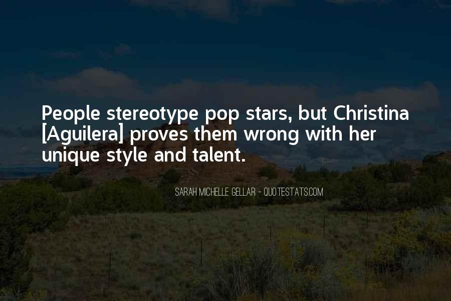 Stereotype Quotes #174348