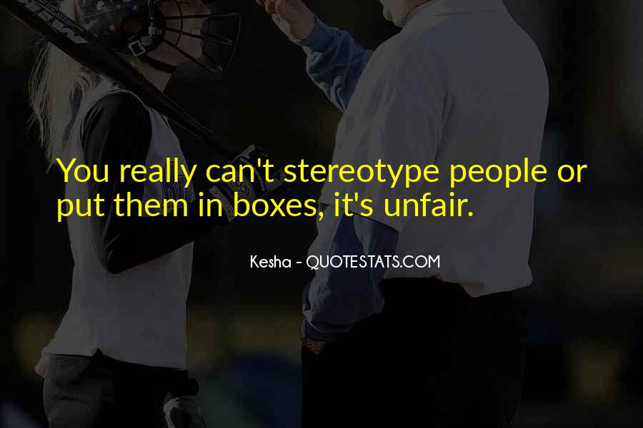 Stereotype Quotes #515867