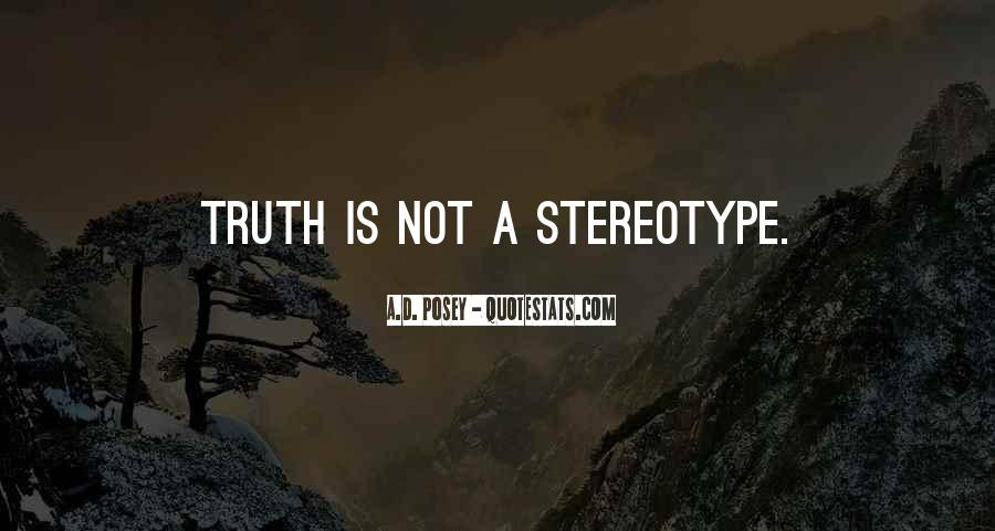 Stereotype Quotes #535930