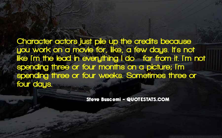 Steve Buscemi Movie Quotes #1527135