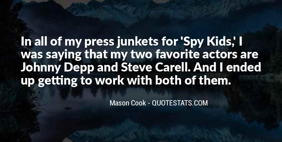Steve Cook Quotes #1818111