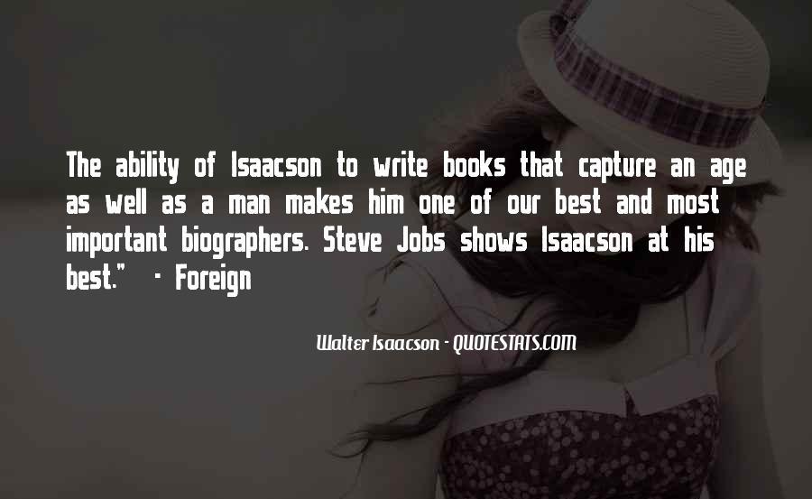Steve Jobs Isaacson Quotes #260963