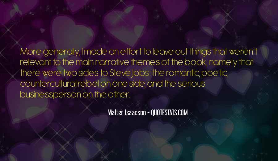 Steve Jobs Isaacson Quotes #333814