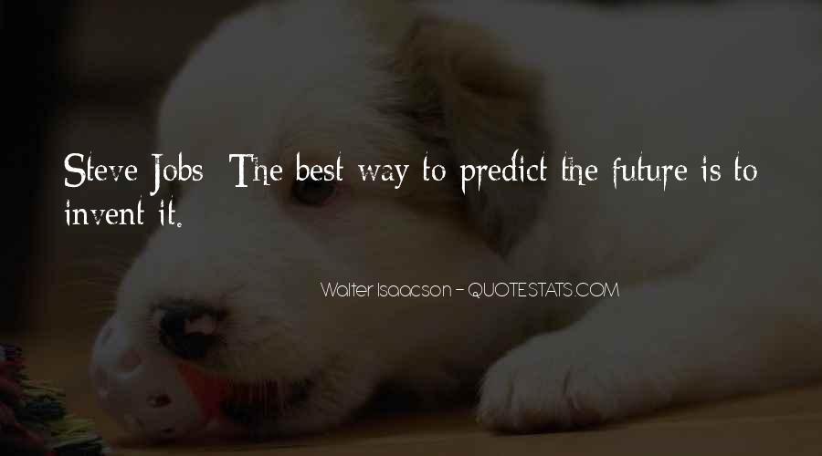 Steve Jobs Isaacson Quotes #486845