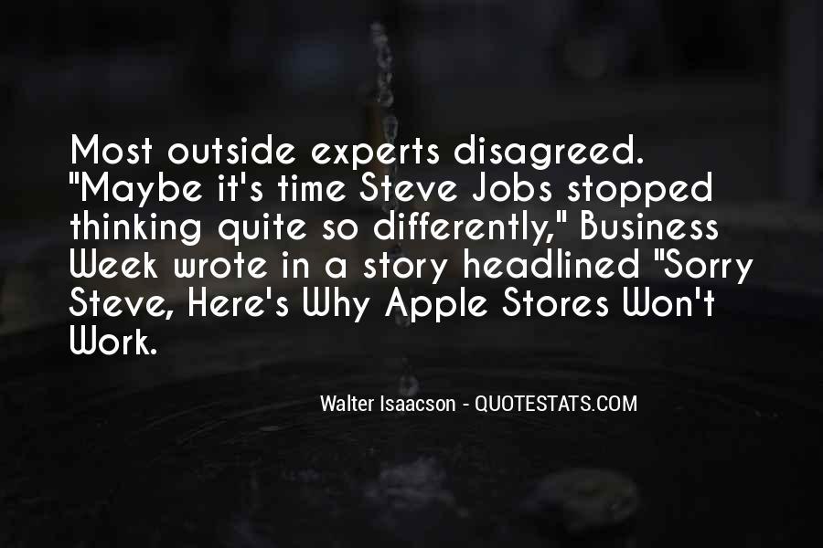 Steve Jobs Isaacson Quotes #519129