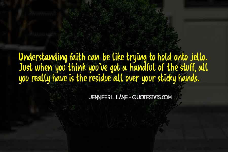 Sticky Faith Quotes #1779214