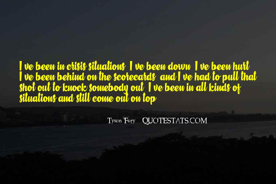 Quotes About Been Down #117535