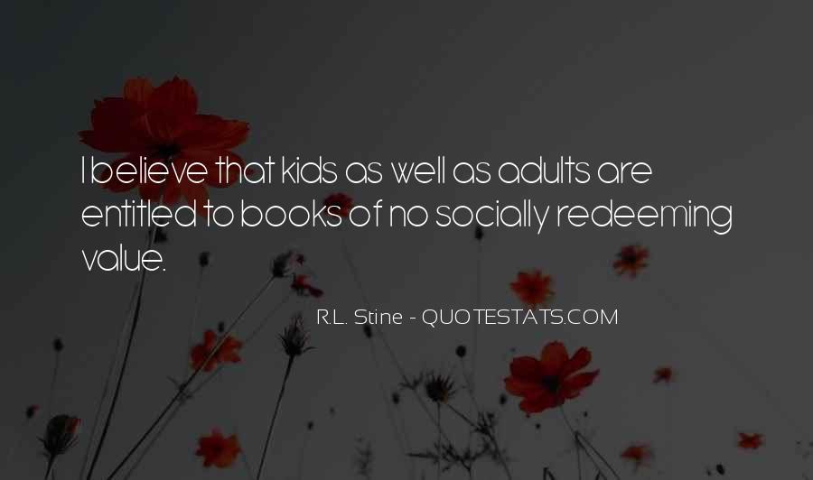 Stine Quotes #1362265