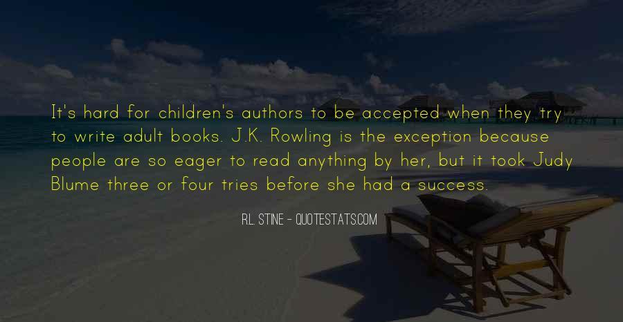 Stine Quotes #254678