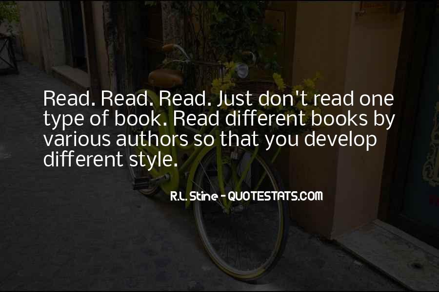 Stine Quotes #543067