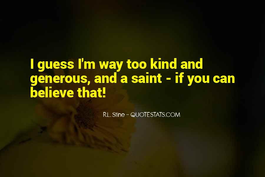 Stine Quotes #771890