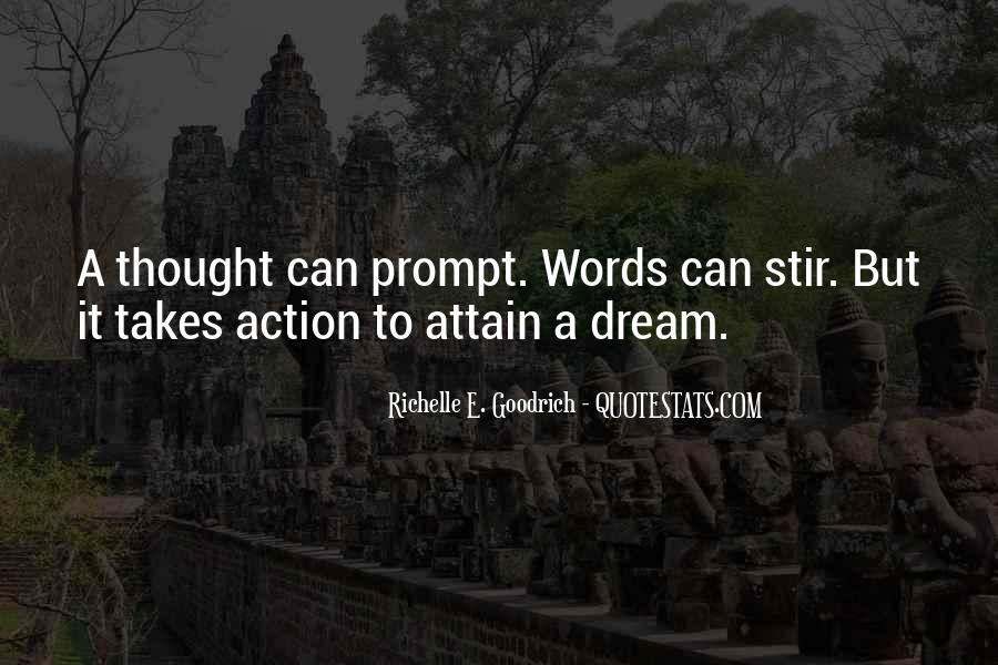 Stir To Action Quotes #708591