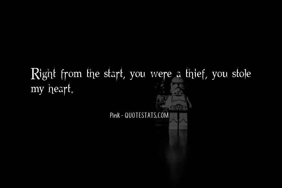 Stole Your Heart Quotes #545008