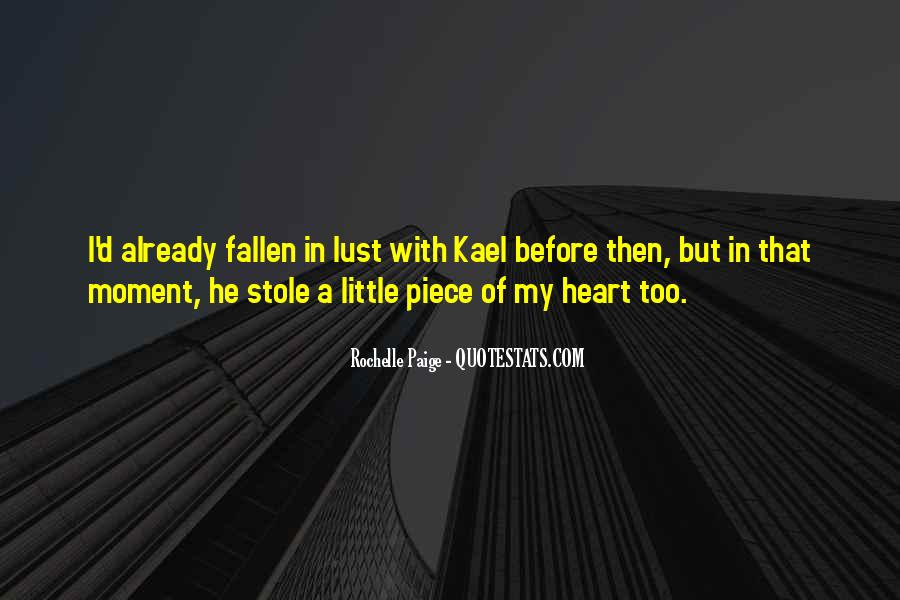 Stole Your Heart Quotes #626067