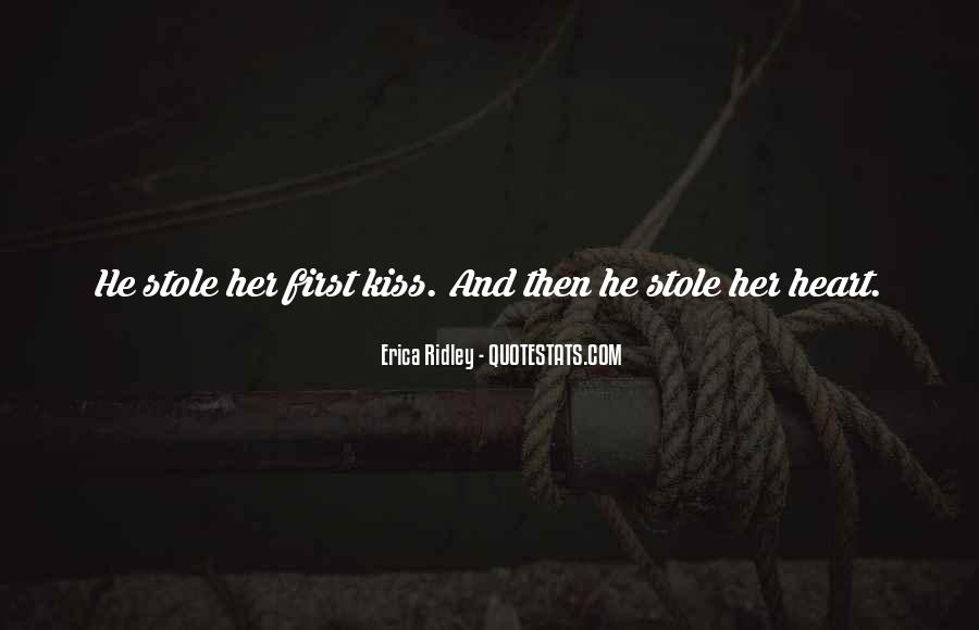 Stole Your Heart Quotes #743378