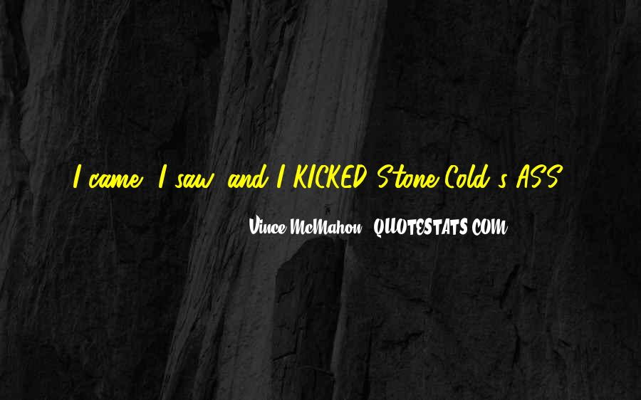 Stone Cold's Quotes #1210238