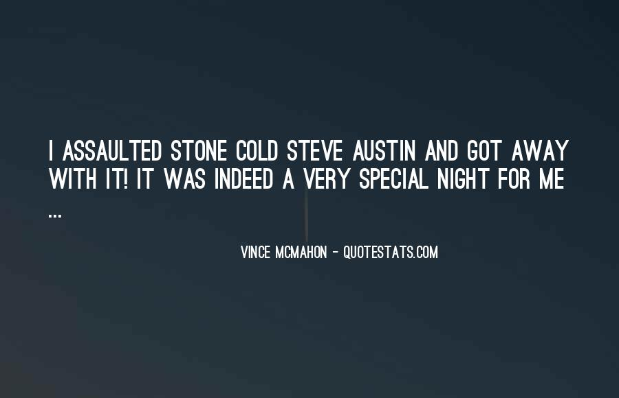 Stone Cold's Quotes #1431221