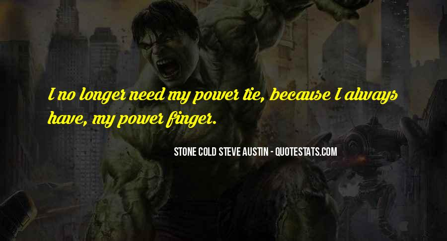 Stone Cold's Quotes #585442