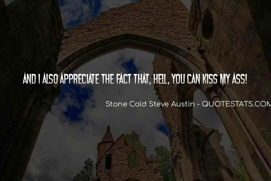 Stone Cold's Quotes #746095