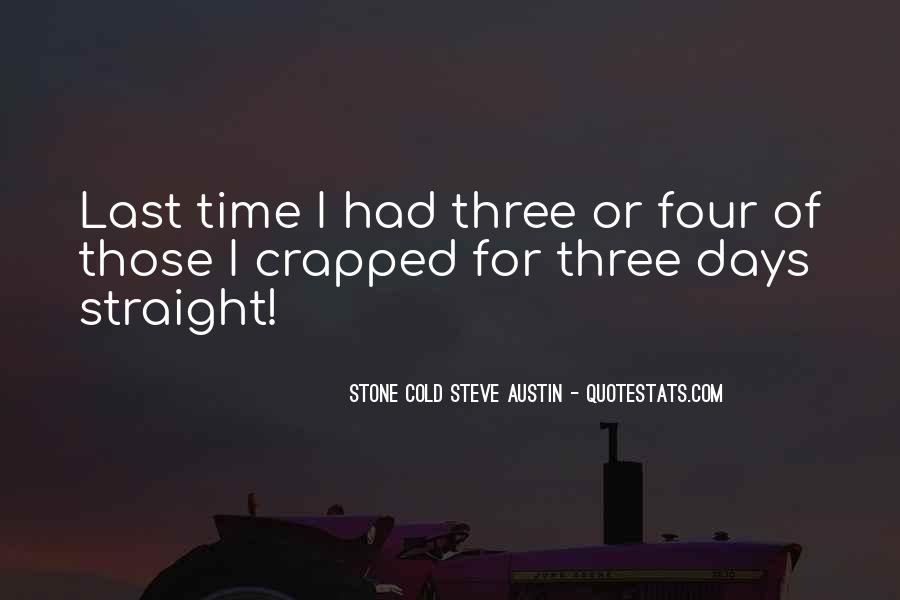 Stone Cold's Quotes #86073