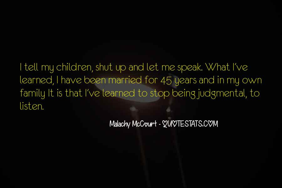 Stop Being Judgmental Quotes #208465