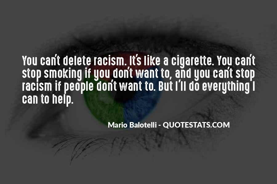 Stop Cigarette Smoking Quotes #1590939