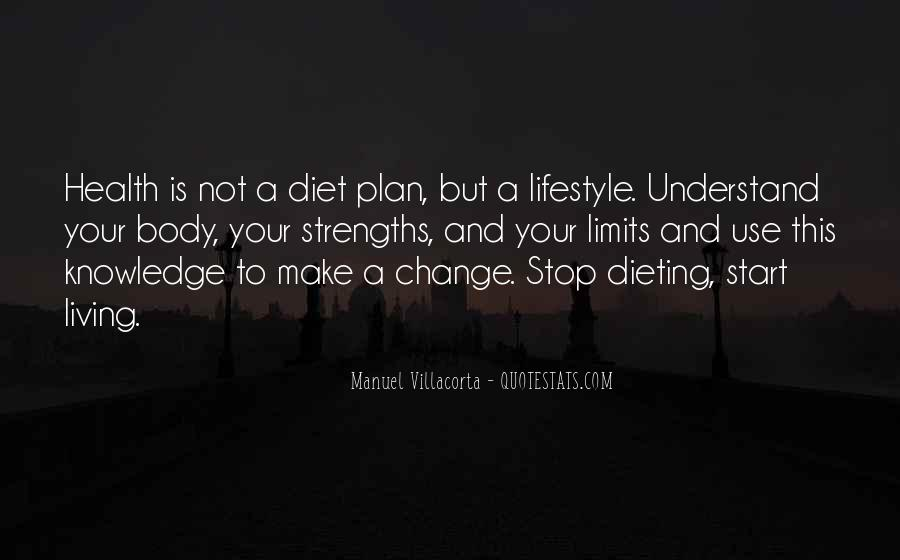 Stop Dieting Quotes #1264972