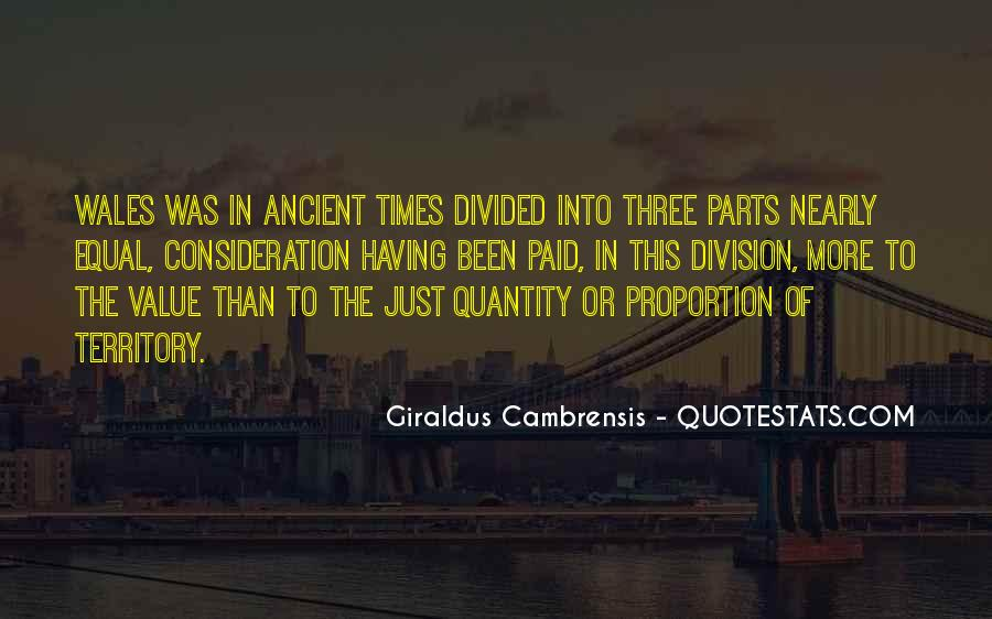 Quotes About Ancient Times #1005412