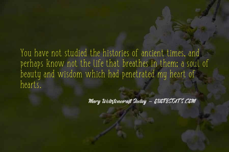 Quotes About Ancient Times #1041346