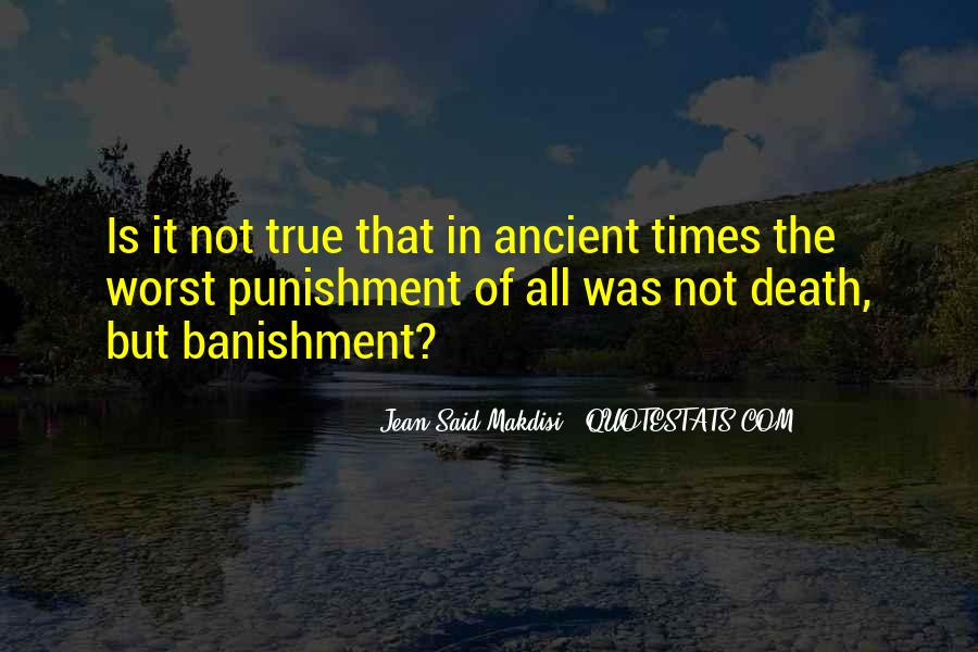 Quotes About Ancient Times #165030