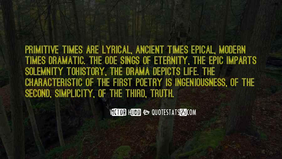 Quotes About Ancient Times #376192