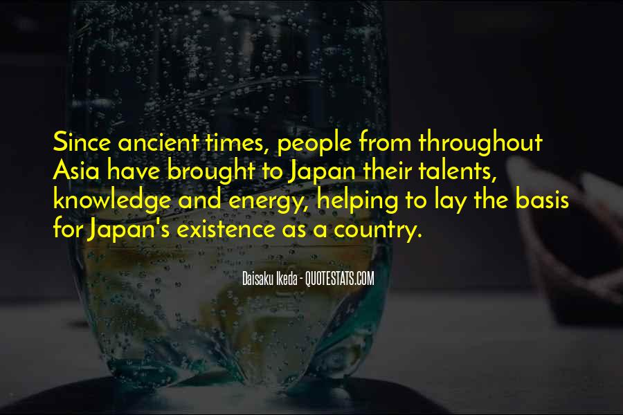 Quotes About Ancient Times #594374