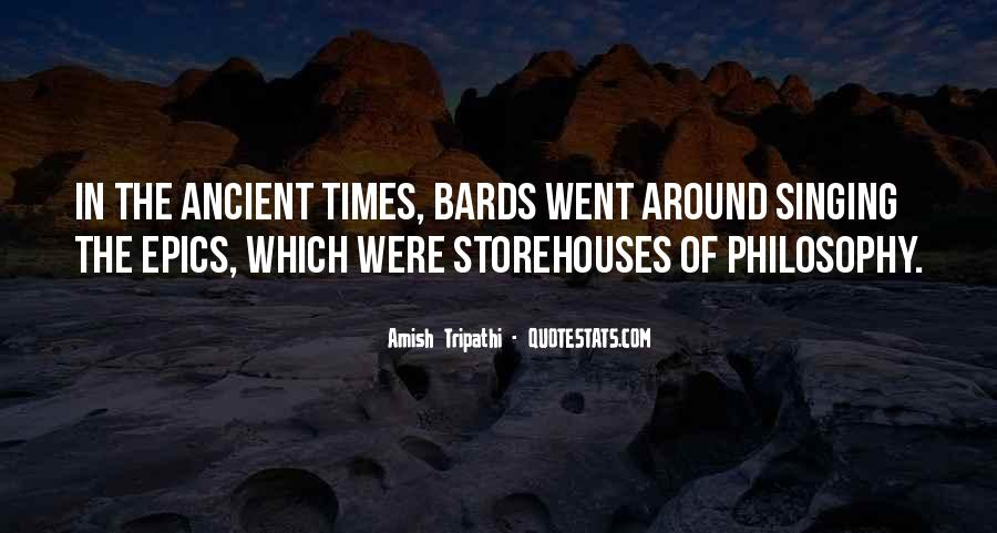Quotes About Ancient Times #99323