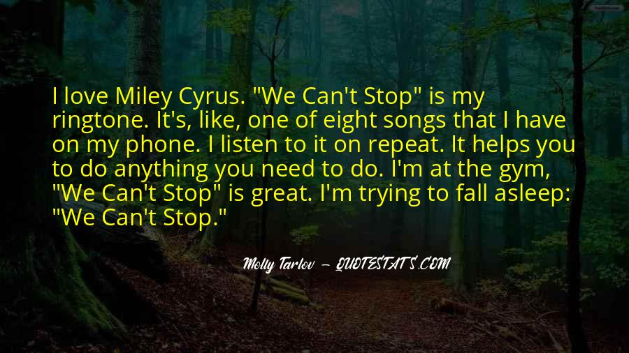 Stop Trying Love Quotes #1335934