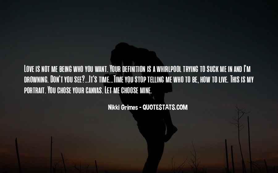 Stop Trying Love Quotes #912631