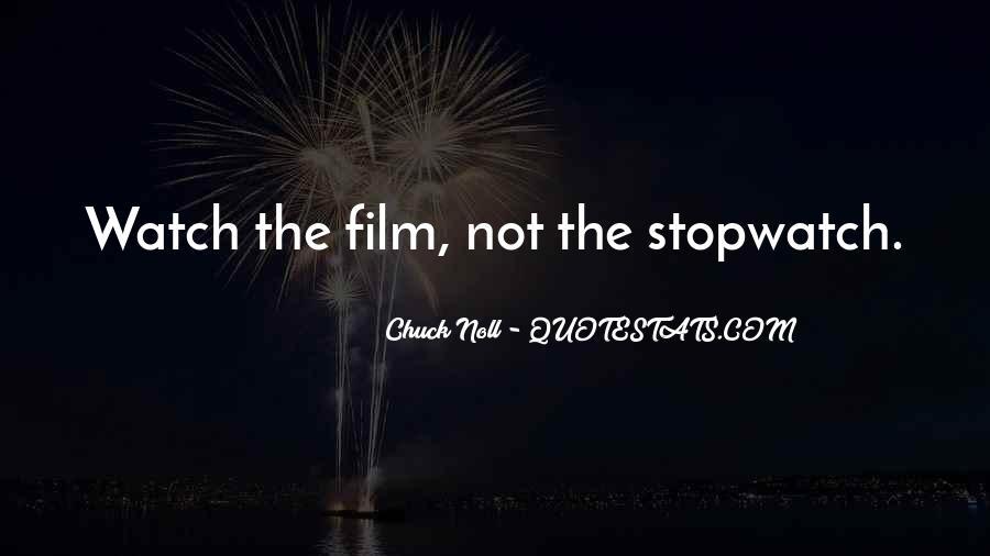 Stopwatch Me Quotes #1409906