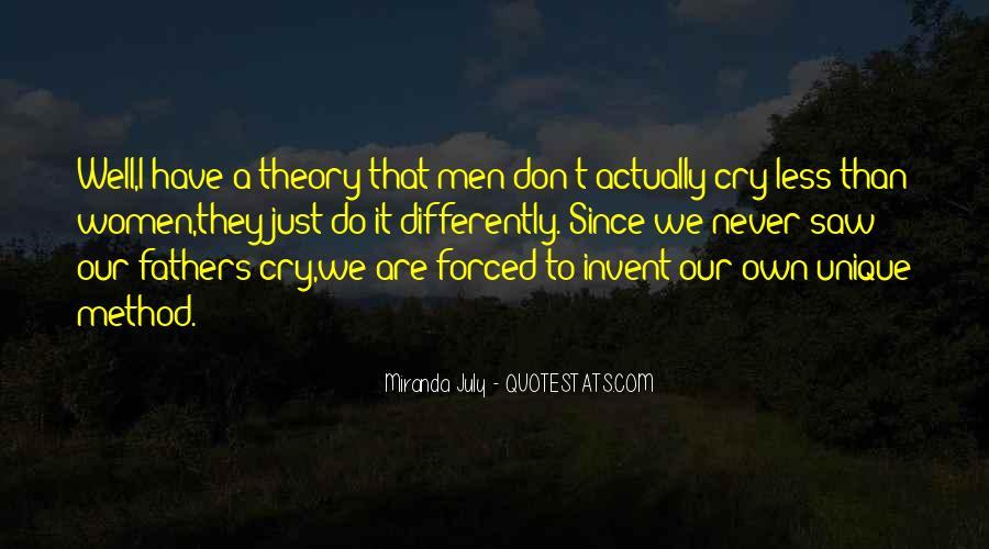 Quotes About Unique Man #13210