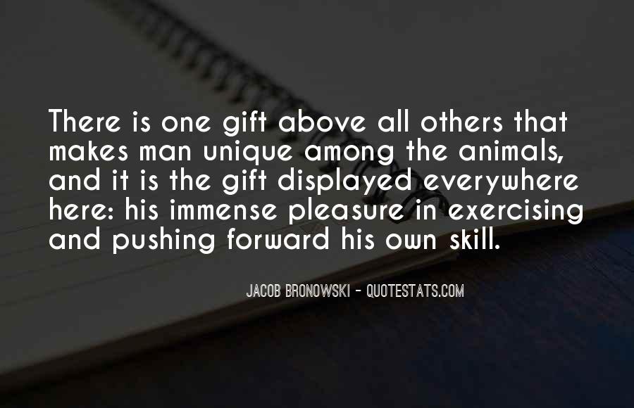 Quotes About Unique Man #23527