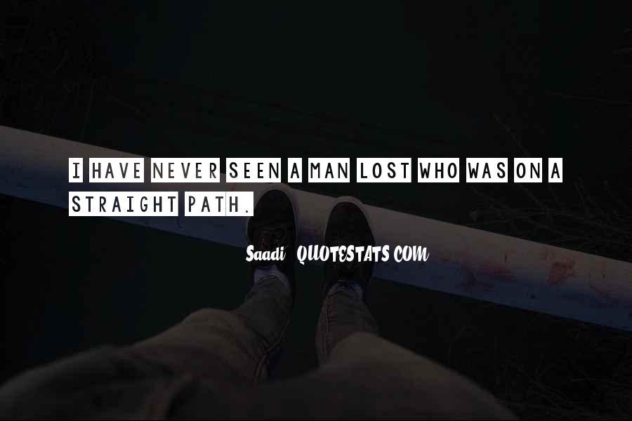 Straight Man Quotes #30848