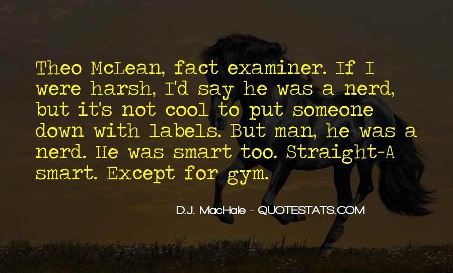 Straight Man Quotes #324111
