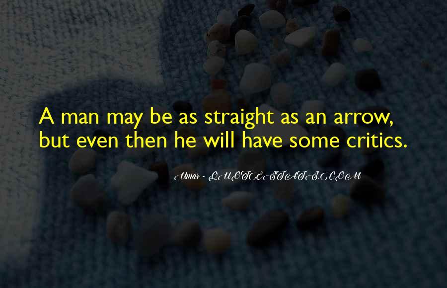 Straight Man Quotes #35811