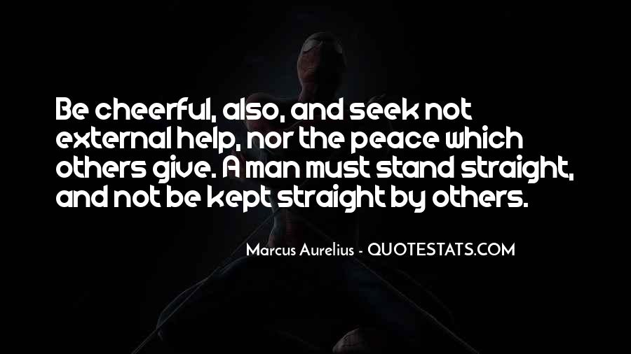 Straight Man Quotes #763876