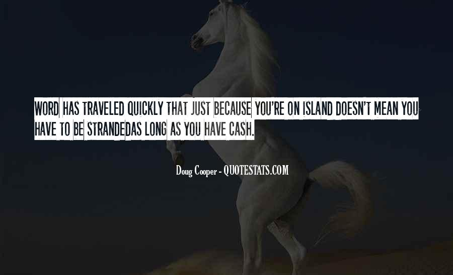 Stranded Island Quotes #1430832