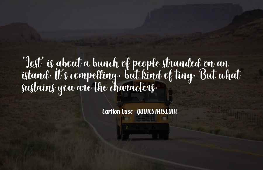 Stranded Island Quotes #1621312